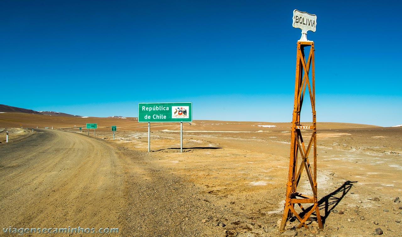 Fronteira Bolívia Chile - Atacama