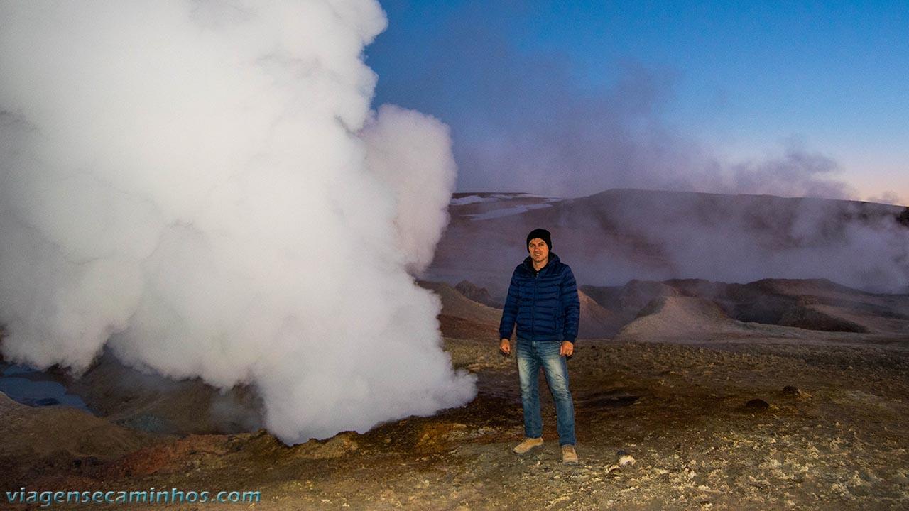 Gêiser Sol de La Mañana - Bolívia