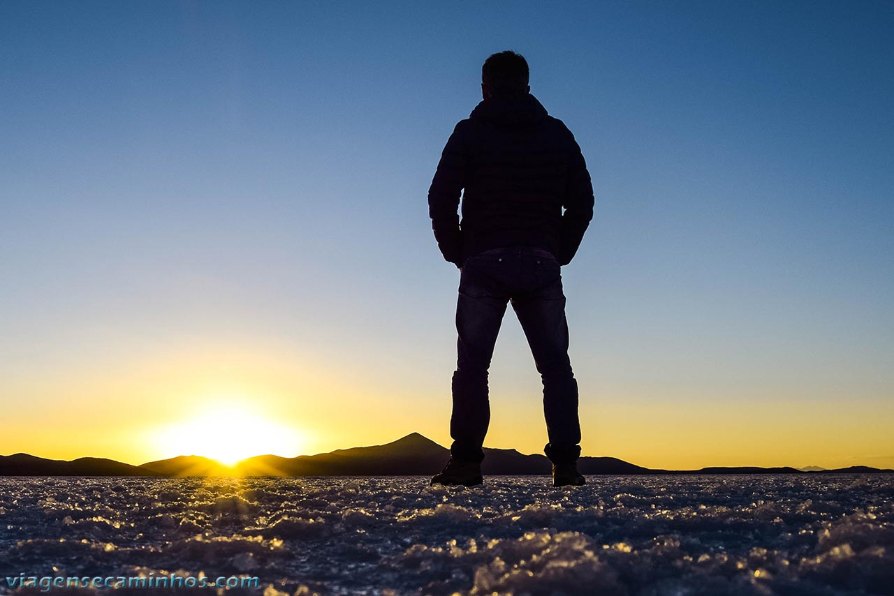 Pôr do Sol Salar de Uyuni