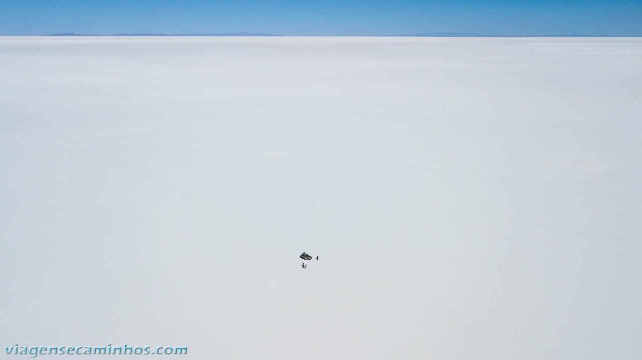 Salar de Uyuni - imagem de Drone