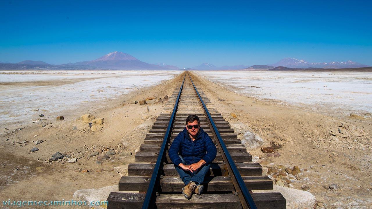 Trem Deserto Bolívia