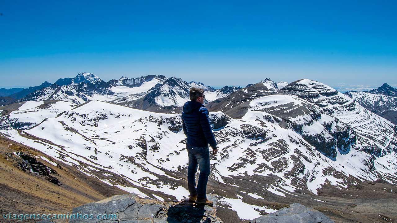 Vista Pico Chacaltaya
