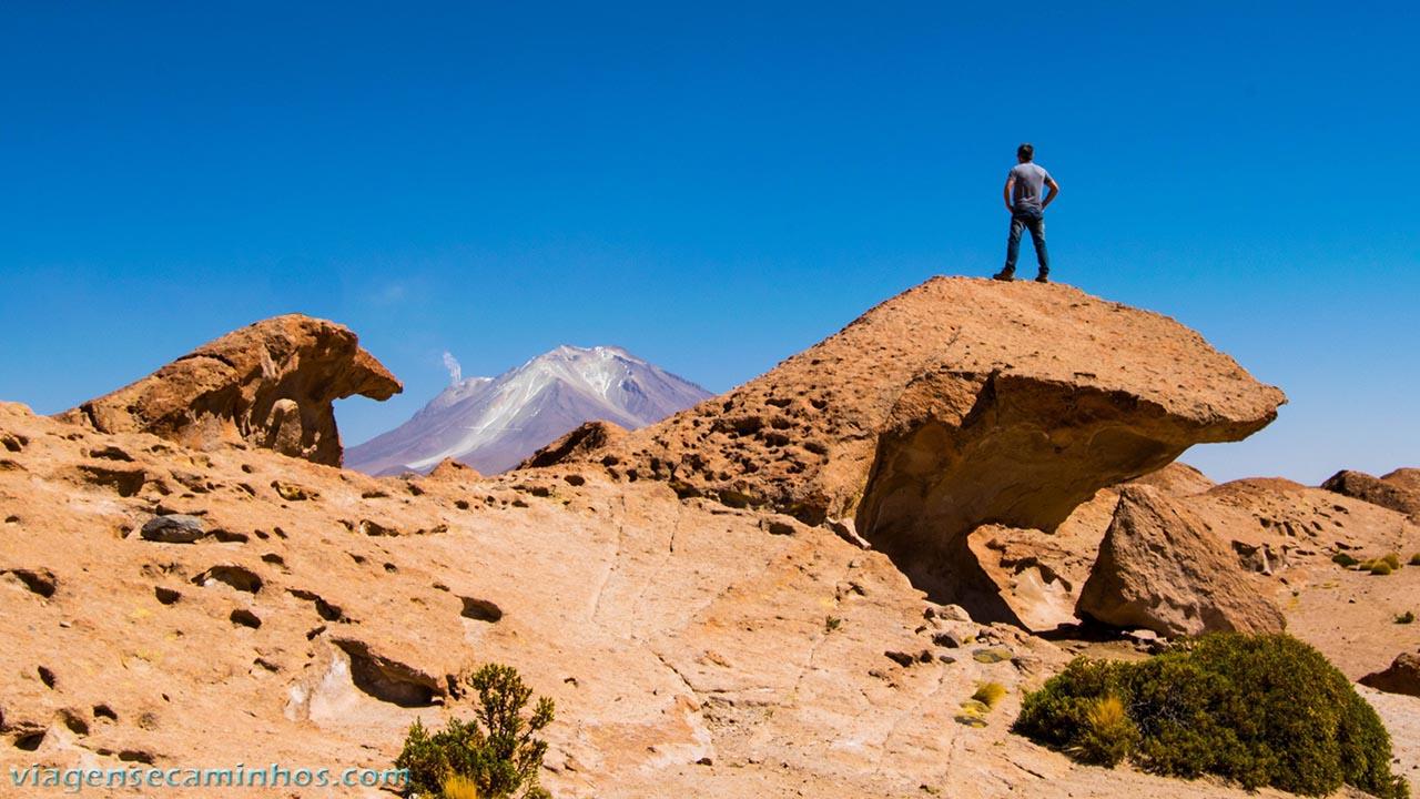 Vulcão Olágue - Deserto Bolívia