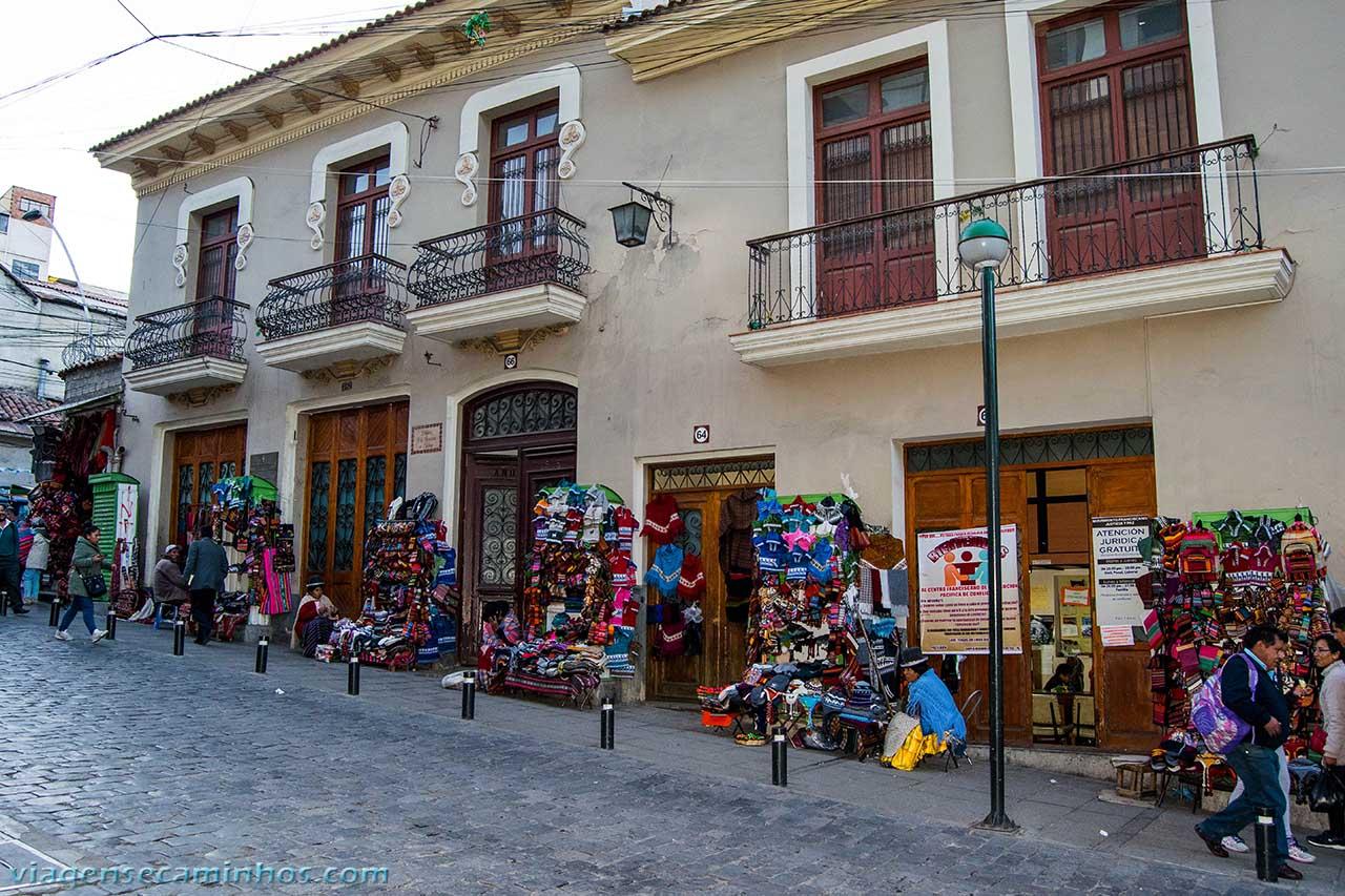 Calle Sagarnaga - La Paz