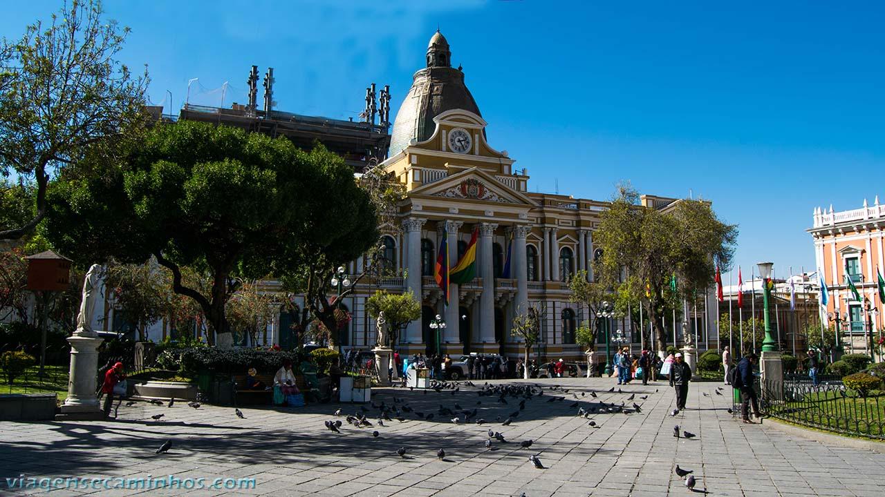 Palácio Legislativo - Congresso La Paz