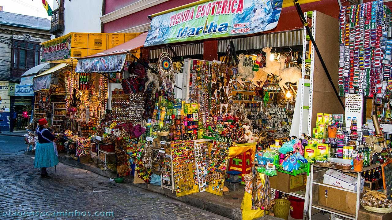 Mercado de Las Brujas - La Paz