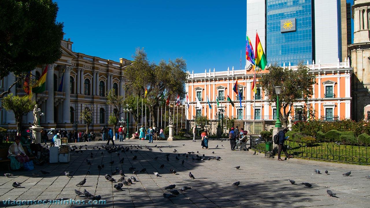 Palacio Quemado - Praça Murilo - La Paz