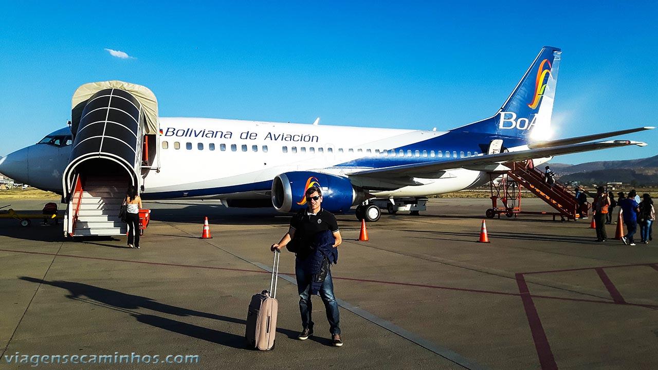 Voo Boliviana Cochabamba la Paz