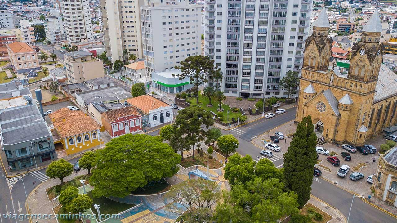 Praça João Ribeiro - Lages