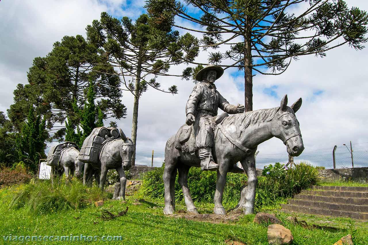 Monumento ao Tropeiro - Lages
