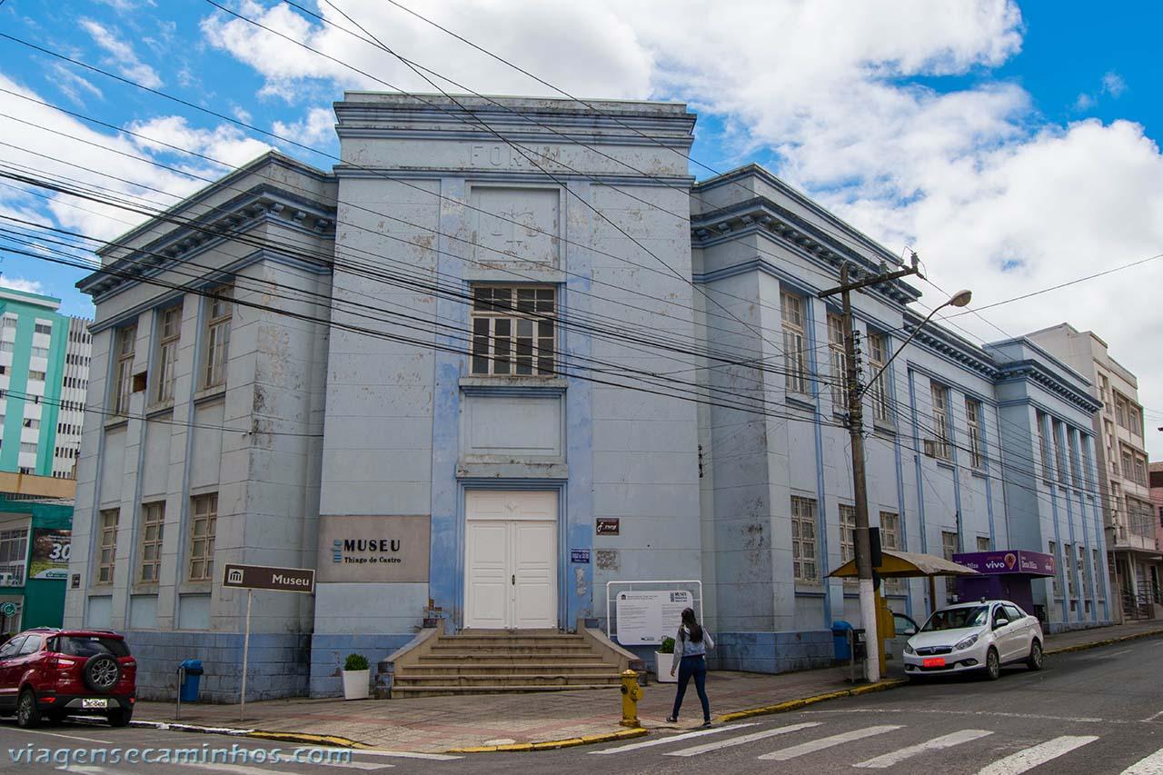 Museu histórico Thiago de Castro - Lages