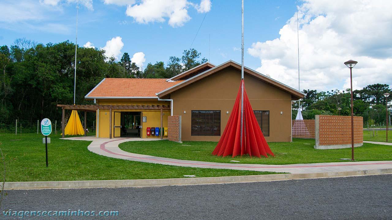 Centro de visitantes do Salto São João