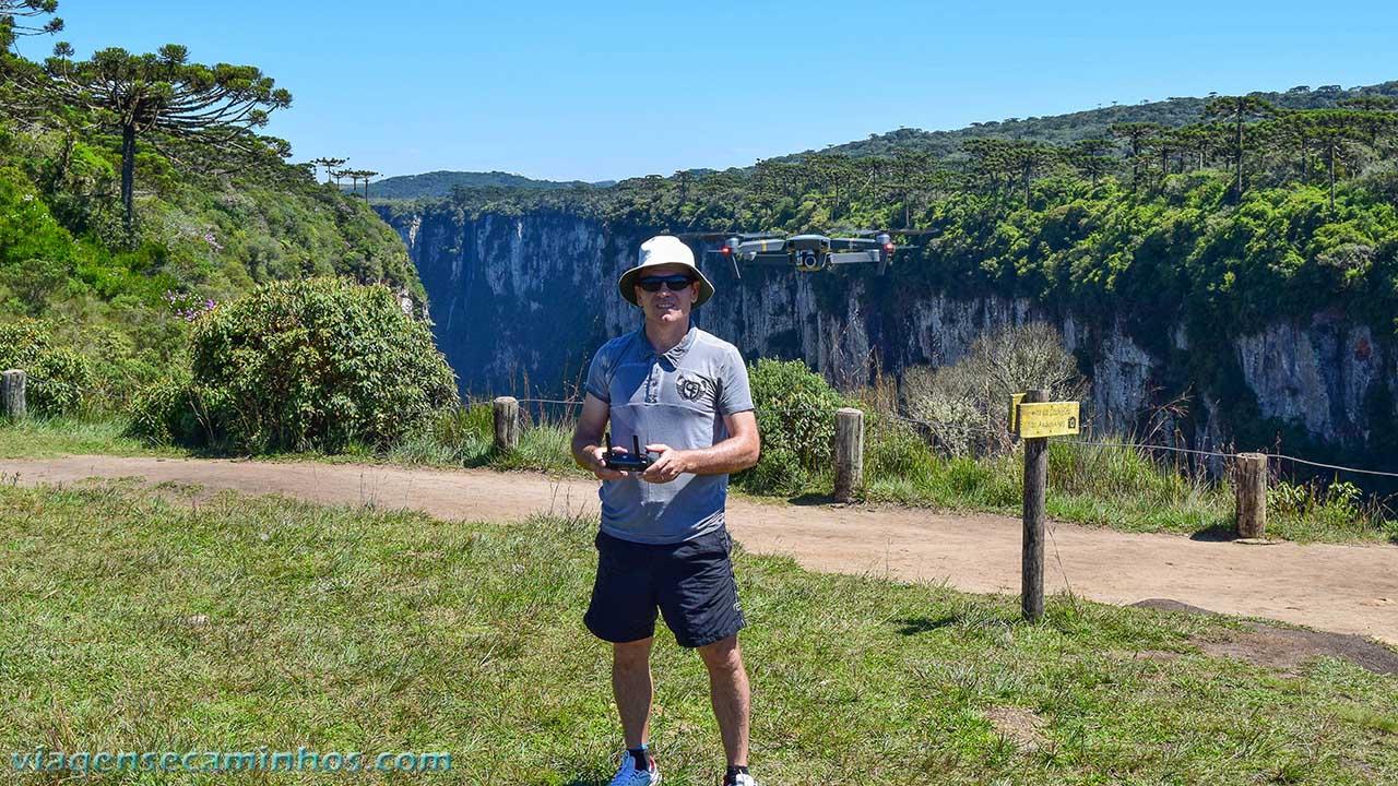 Drone no cânion Itaimbezinho