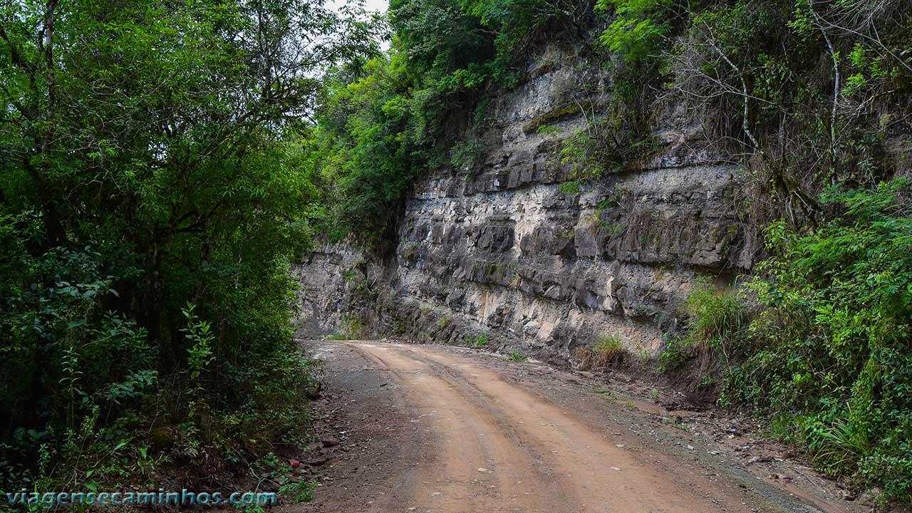 Estrada do Salto São Francisco - Prudentópolis