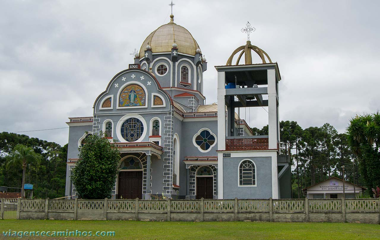 Igreja Nossa Senhora do Patrocínio - Prudentópolis