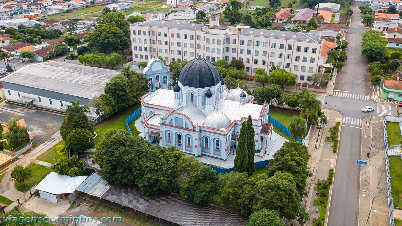 Igreja São Josafat - Prudentópolis