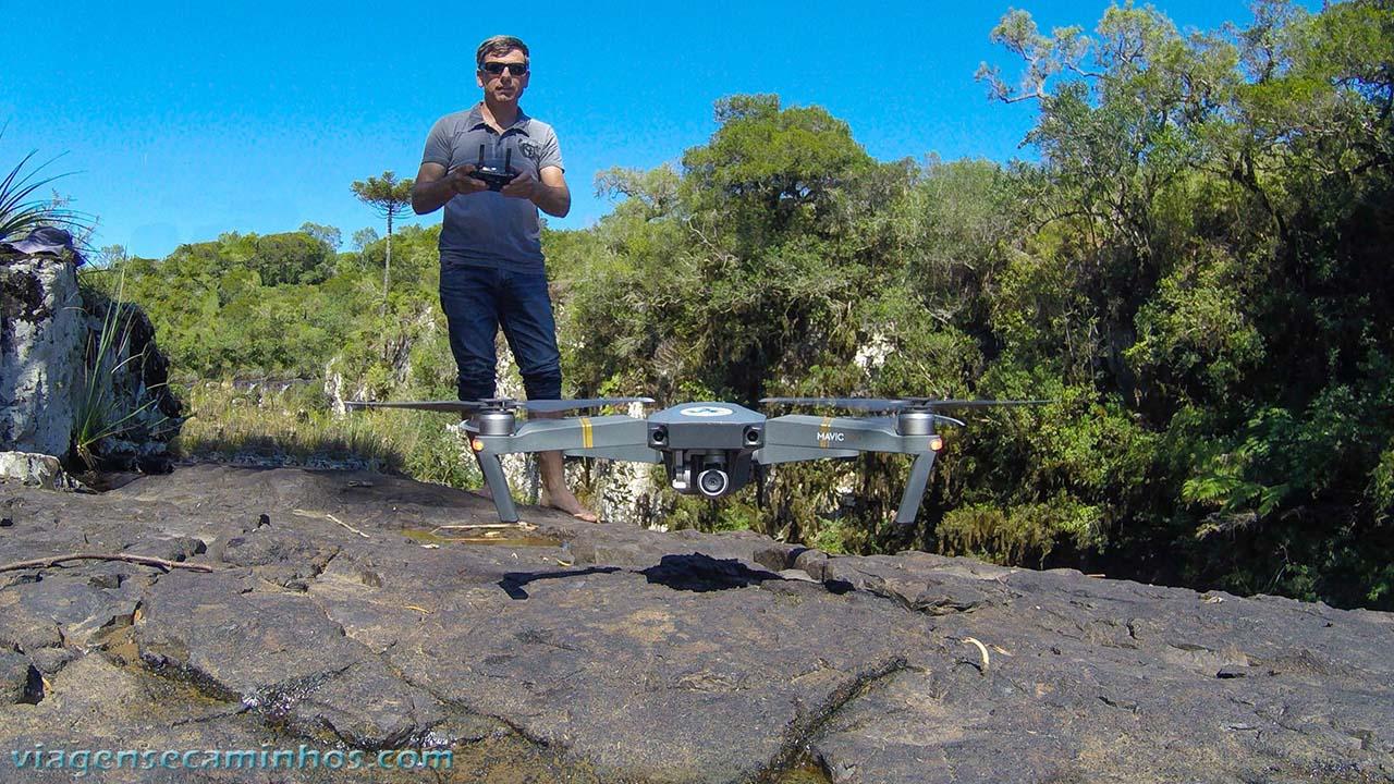 Viajar com drone