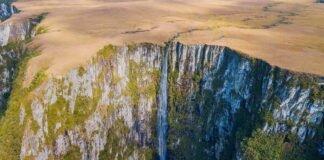 Cachoeira do Amola Faca - São José dos Ausentes - Cachoeiras do Rio Grande do Sul