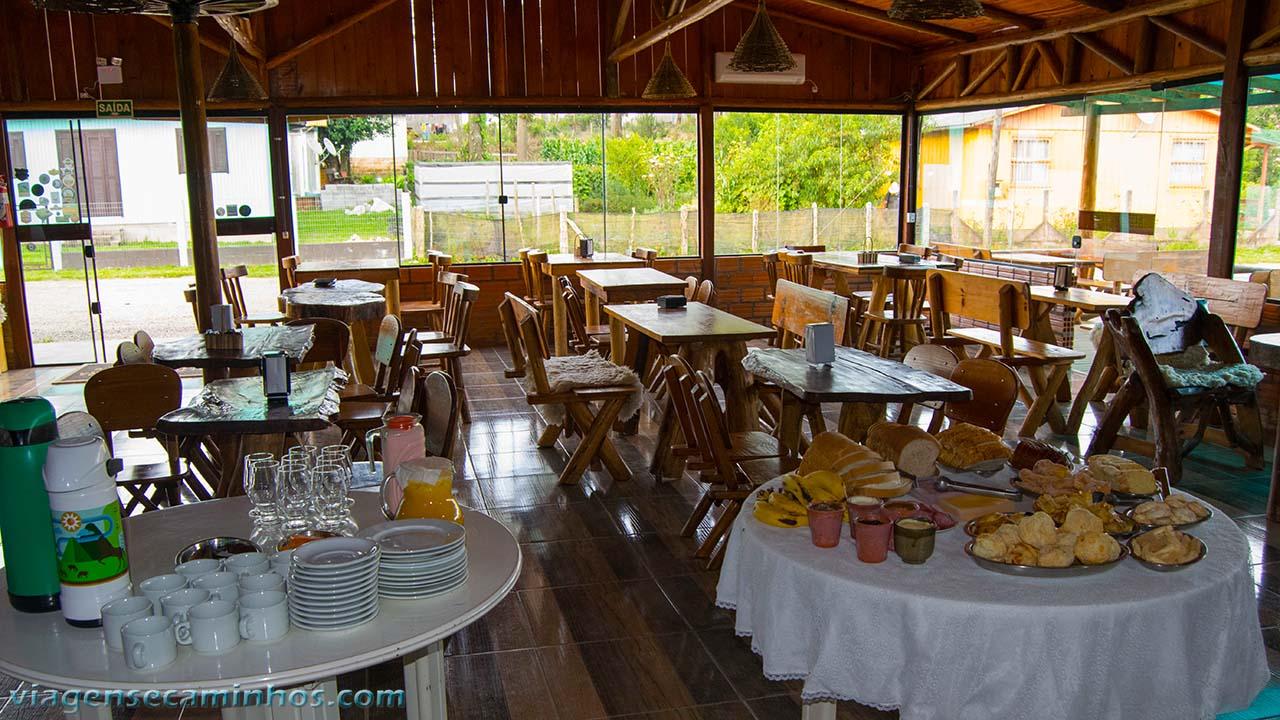 Café da Pousada Altos da Serra