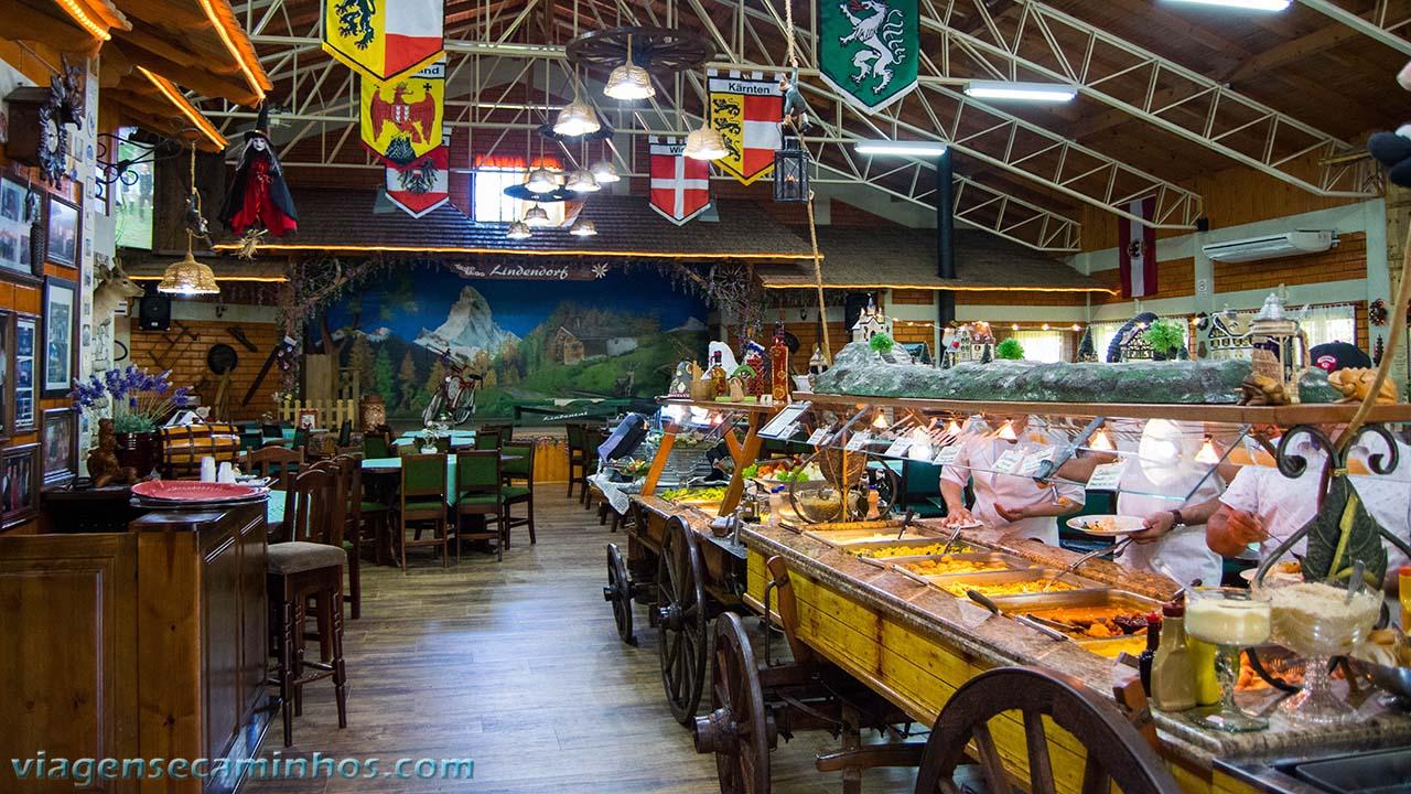 Restaurante do Parque Linderdorf - Treze Tílias