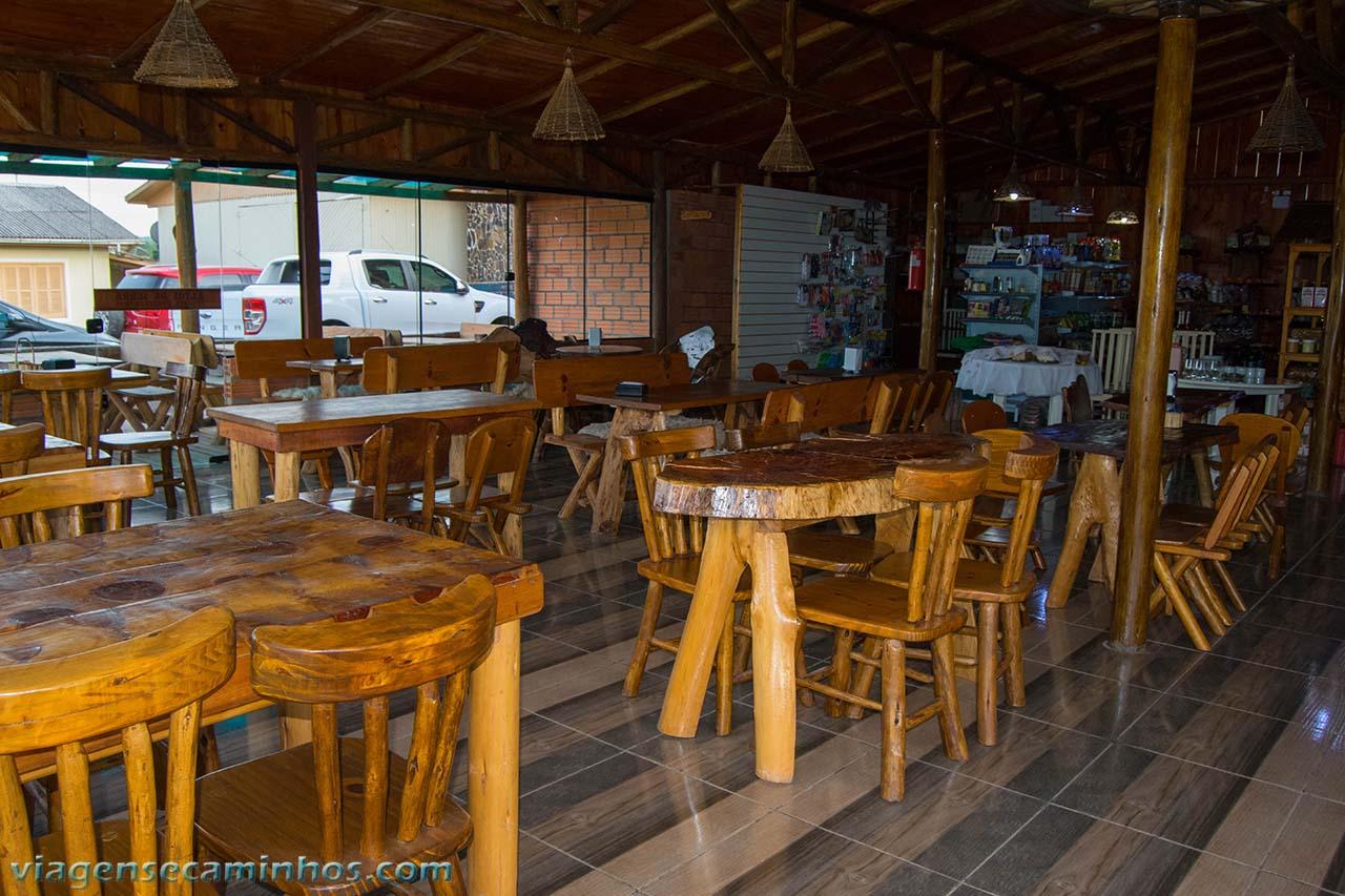 Restaurante da pousada Altos da Serra
