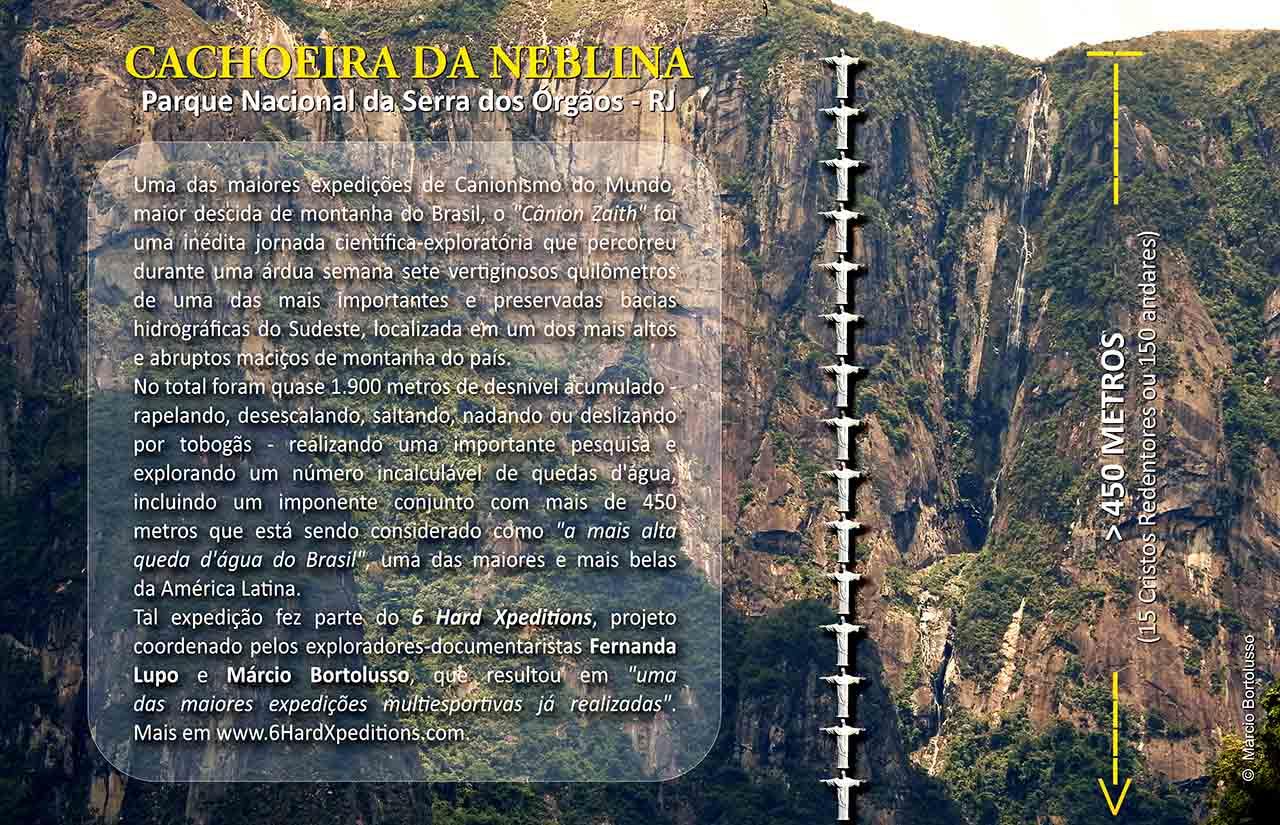 Cachoeira da Neblina - Cachoeira mais alta do Brasil