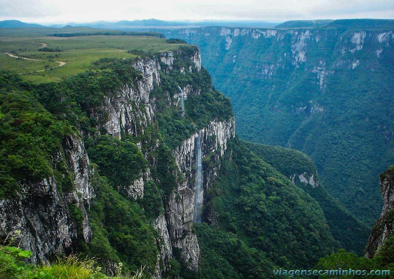 Cachoeira Fortaleza - Cambará do Sul