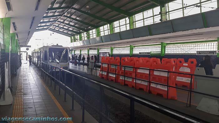 Estação de trem Xochimilco - Cidade do México