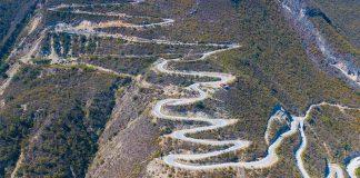 Estrada do cânion Tolantongo - México