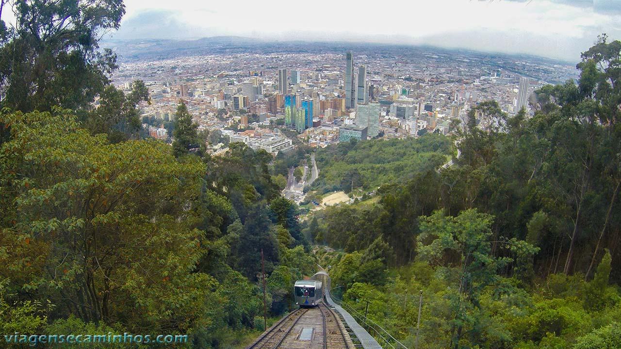 Funicular Monserrate - Bogotá
