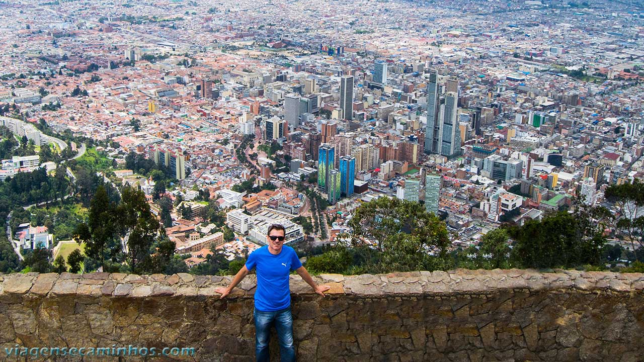 Mirante Monserrate - Bogotá