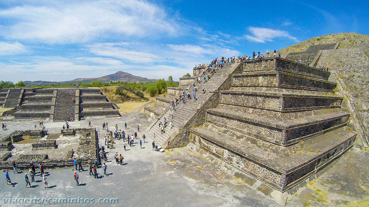 Pirâmide da Lua - Teutihuacan