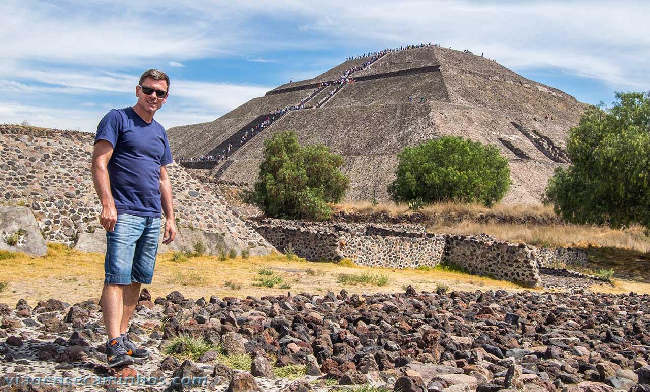 Pirâmide do Sol - Teutihuacan - México