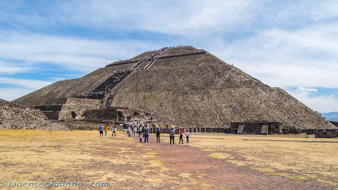 Pirâmide do Sol - Teutihuacan