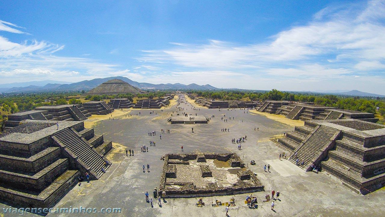 Pirâmides de Teutihuacan - México