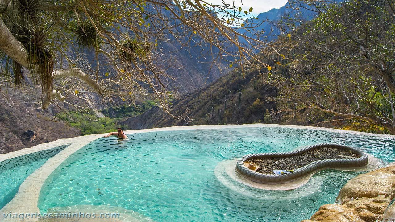 Poças termais de Tolantongo - México