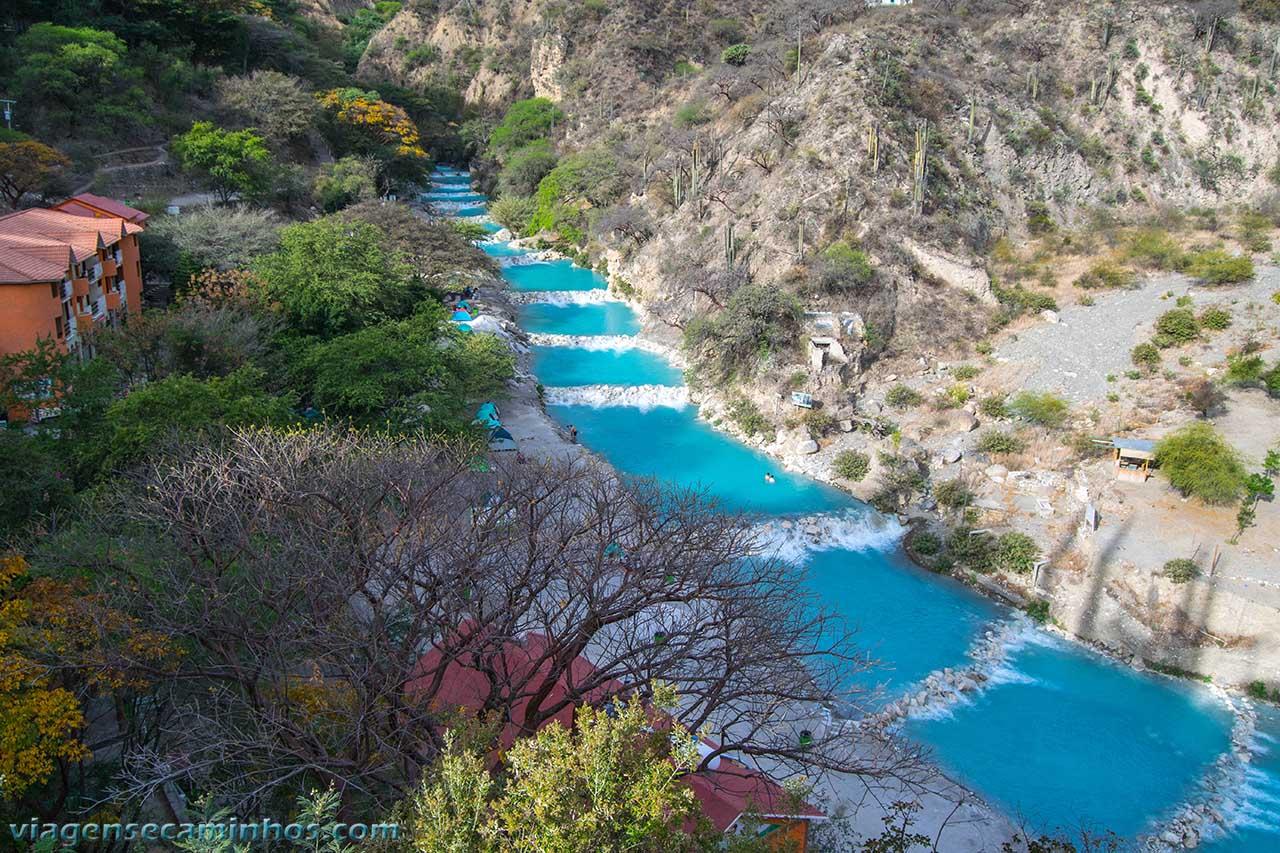Rio termal Tolantongo - México