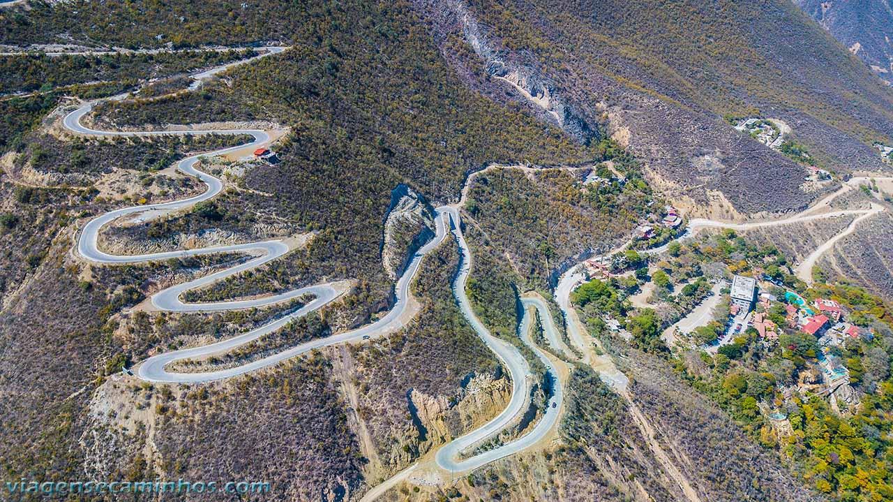 Serra do Cânion de Tolantongo - México