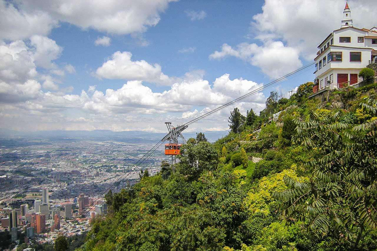 Teleférico Monserrate - Bogotá