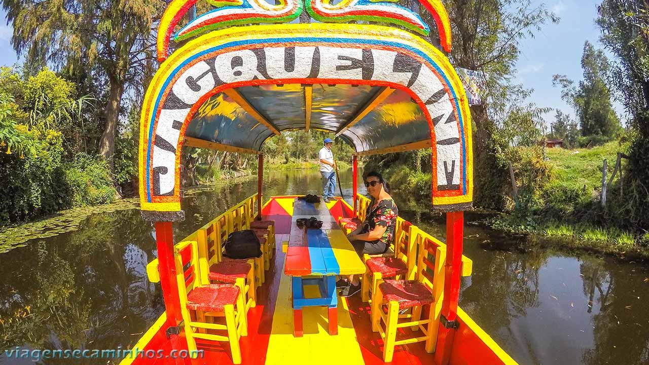 Traineiras de Xochimilco
