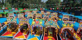 Trajineras de Xochimilco - México