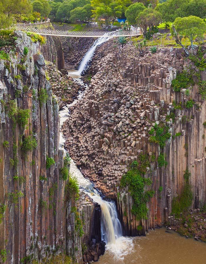 Prismas basálticos - Hoasca de Ocampo - Hidalgo - México