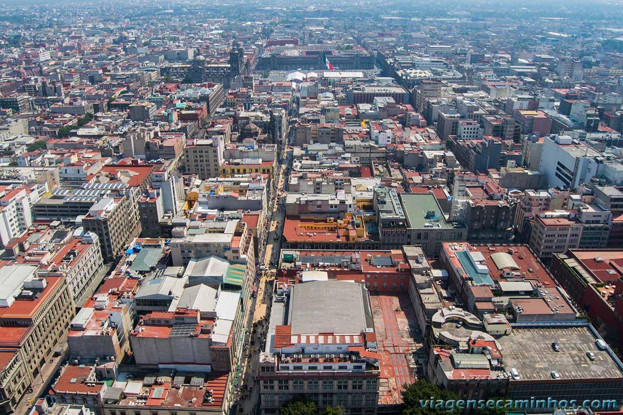 Centro histórico visto da torre