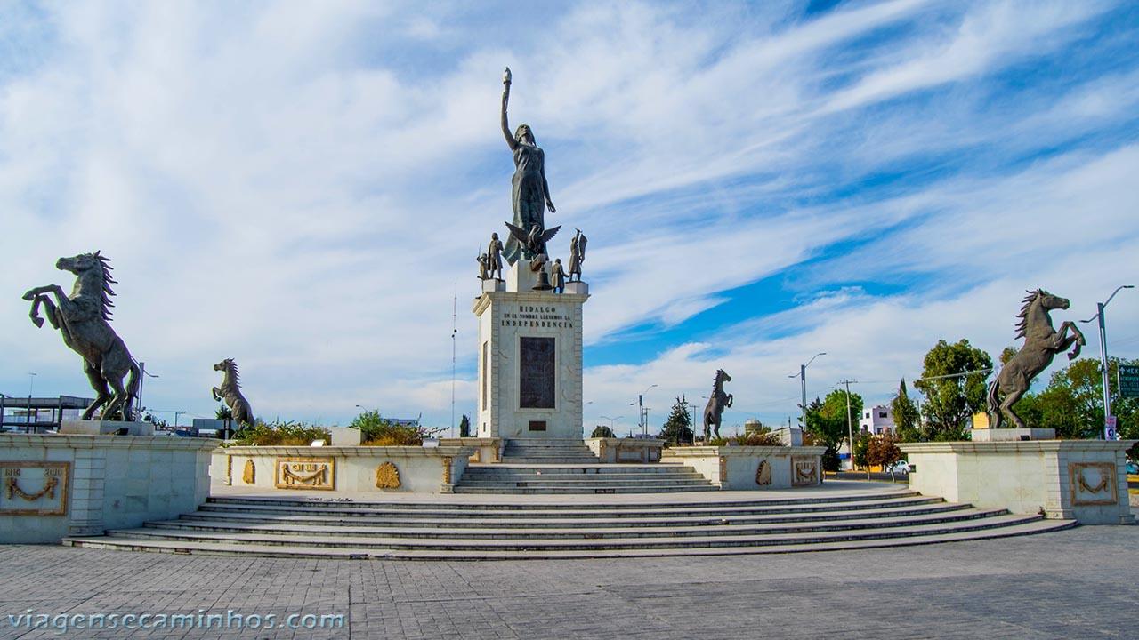 Monumento ao Bicentenário da revolução Mexicana- Pachuca