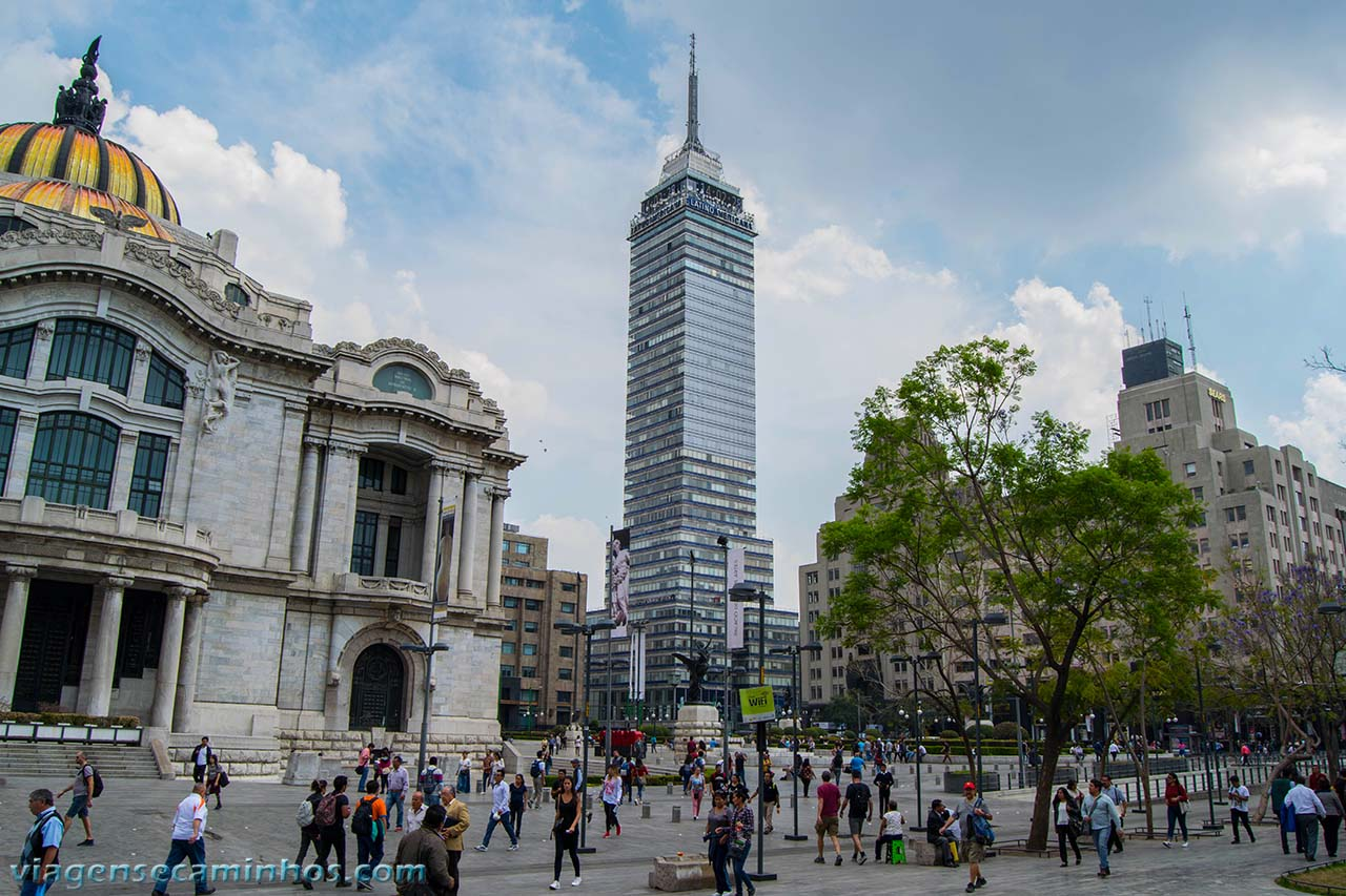 Torre Latinoamericana - México city