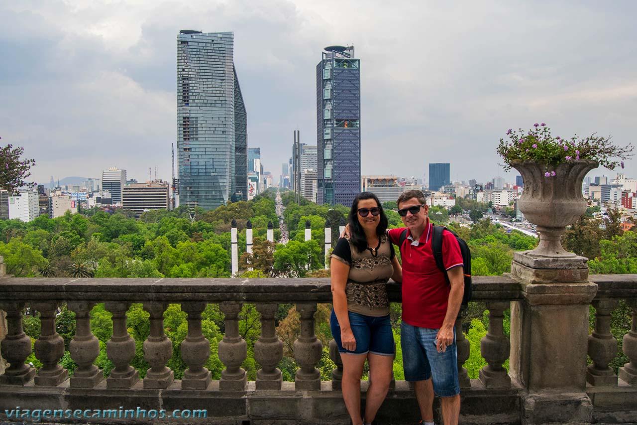 Vista do Castelo Chapultepec - Cidade do México