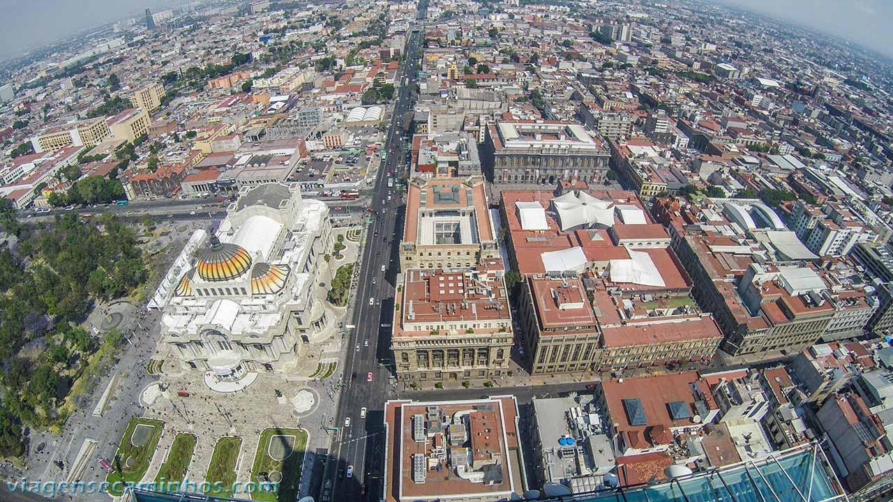 Palácio Belas Artes visto da Torre