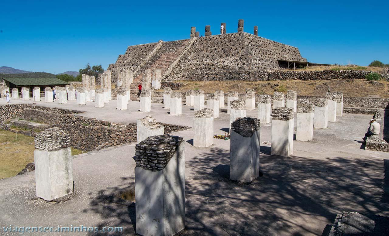 Zona arquelógica de Tula - México