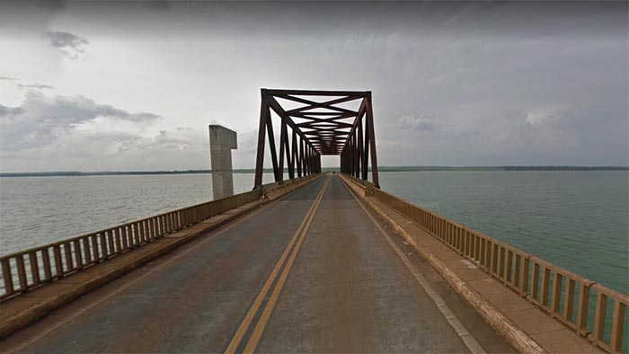 Ponte do Rio Tietê - Pongaí - SP