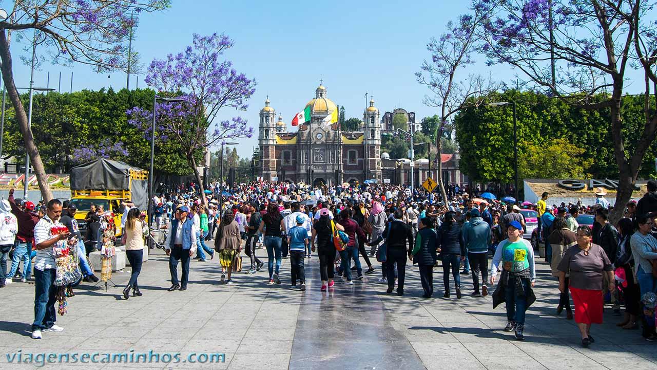 Acesso ao Santuário de Guadalupe